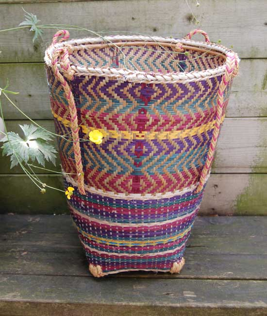 Tea-Harvester Storage Basket – 18″