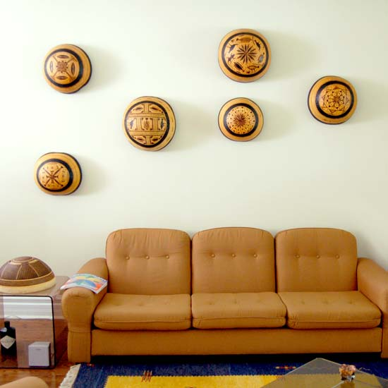 Wall Art – Traditional Gourd Art (~12in)