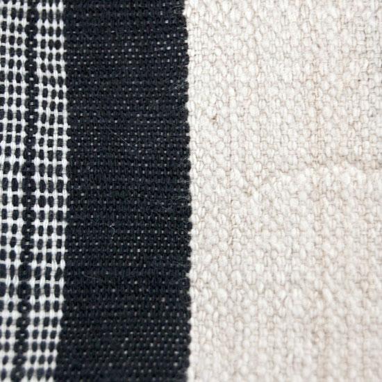 Fulani Blanket (Luru or Khasa) – Black + White