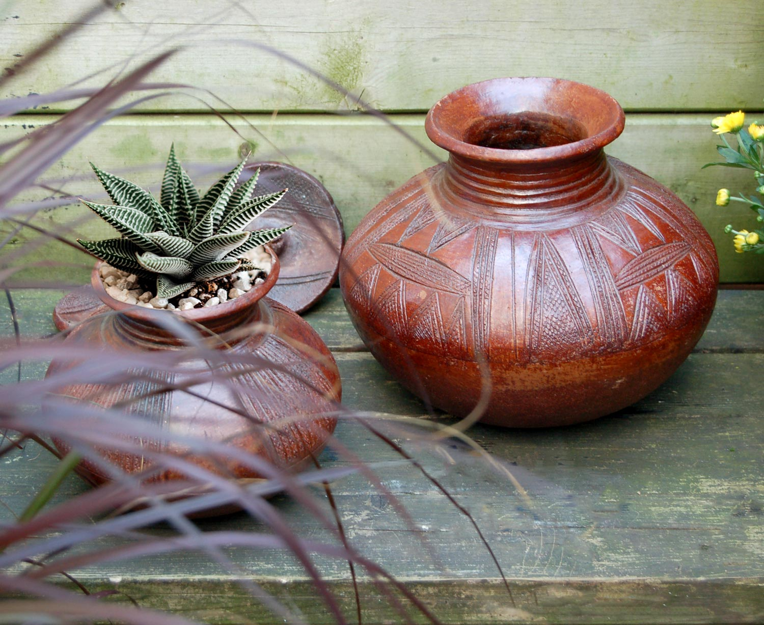 Nupe Pottery Air Plant Planter