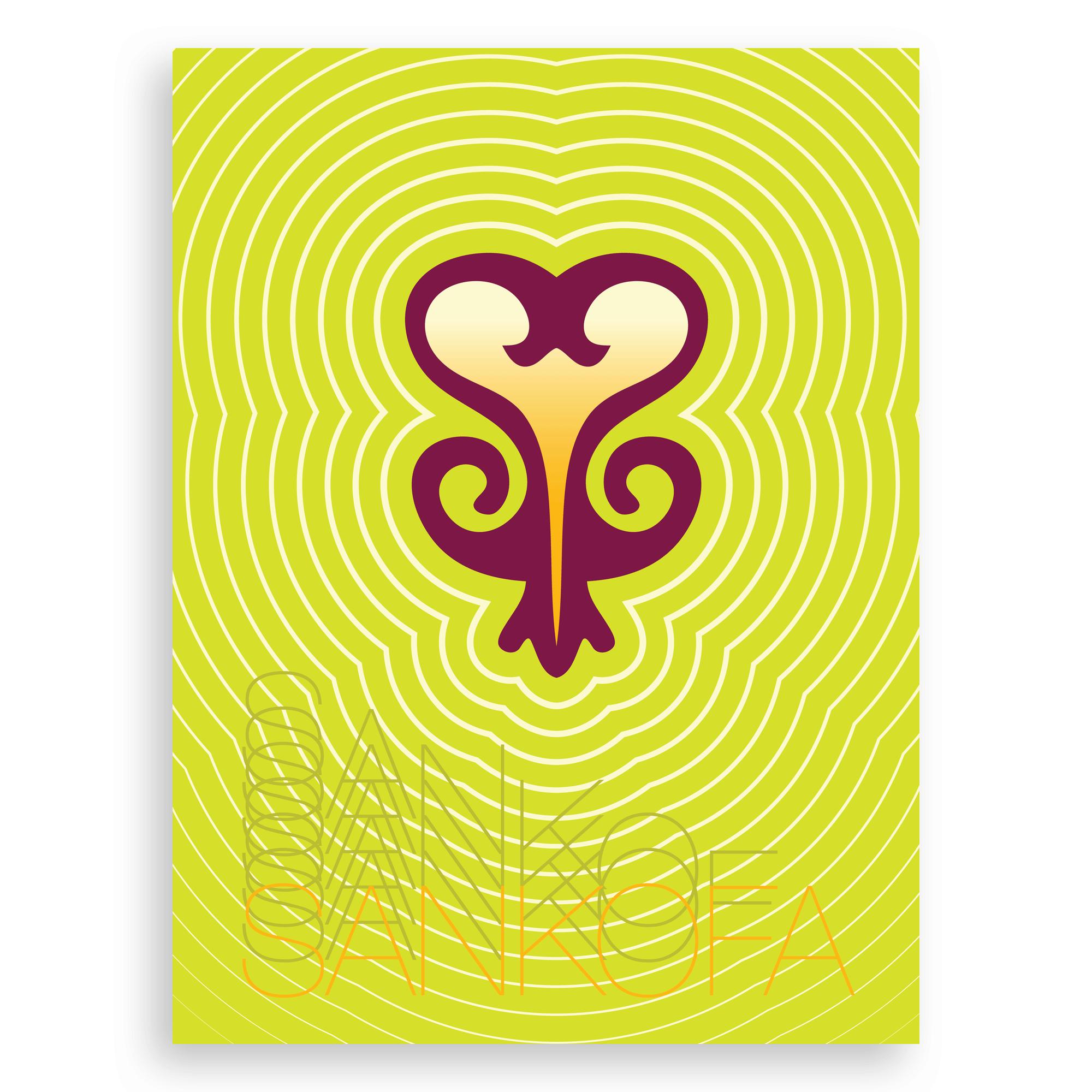 Sankofa Graphic Print – (Past Wisdom, Present Action)