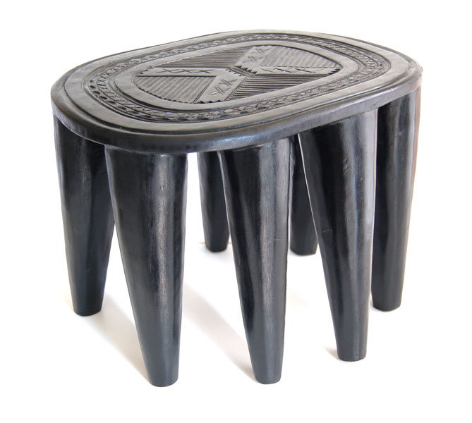 Nupe Stool: Crossed