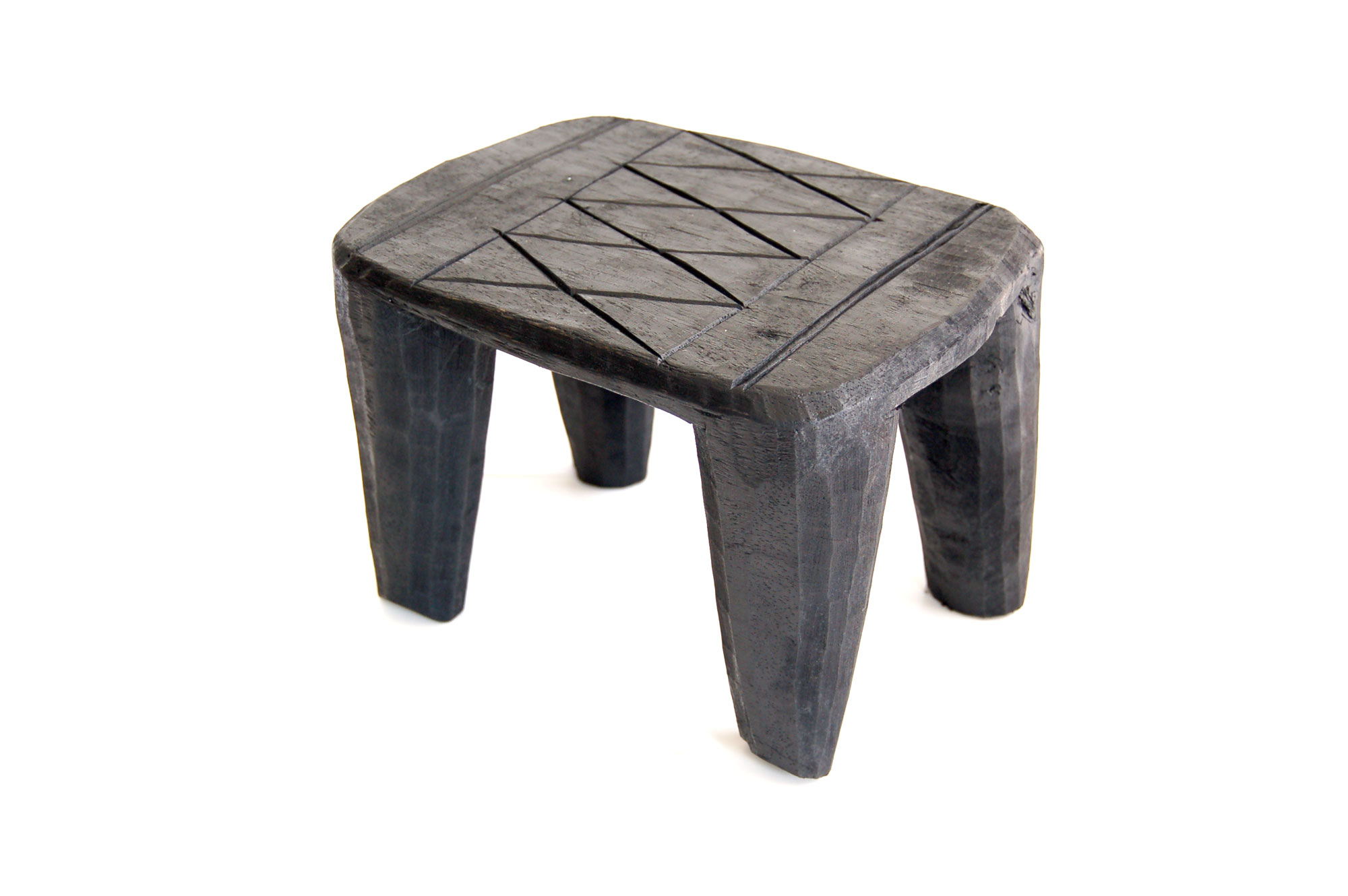 Plant Stand - Mini Nupe Stool