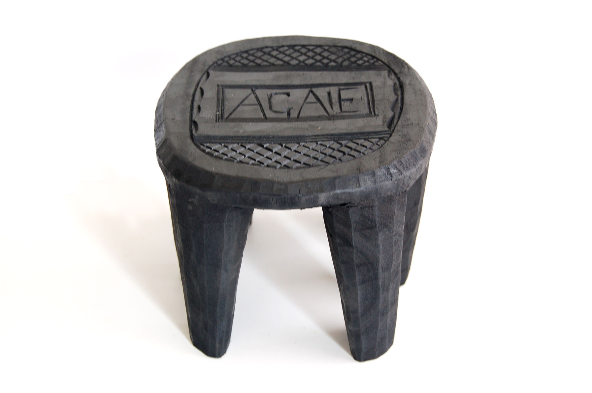 Plant Stand – Mini Nupe Stool