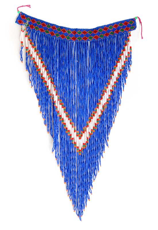 vintage zulu beaded necklace vintage beadwork