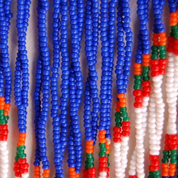 Vintage Zulu Beaded Necklace