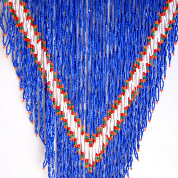 Vintage Zulu Beaded Necklace I