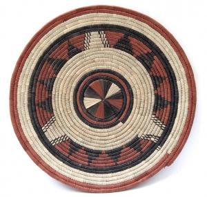 African Flat Basket