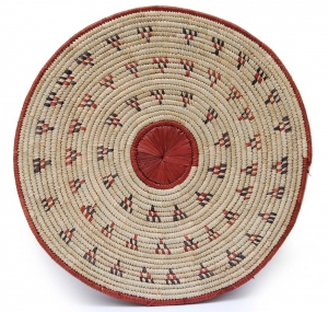 Flat Basket - Decorating with African Baskets