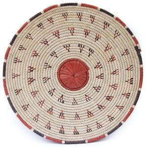 Flat Basket - Modern Global Decor with African Baskets