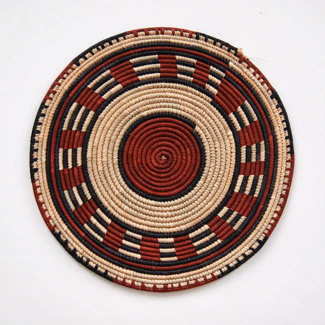 Flat Basket Wall Art Decorating With African Baskets