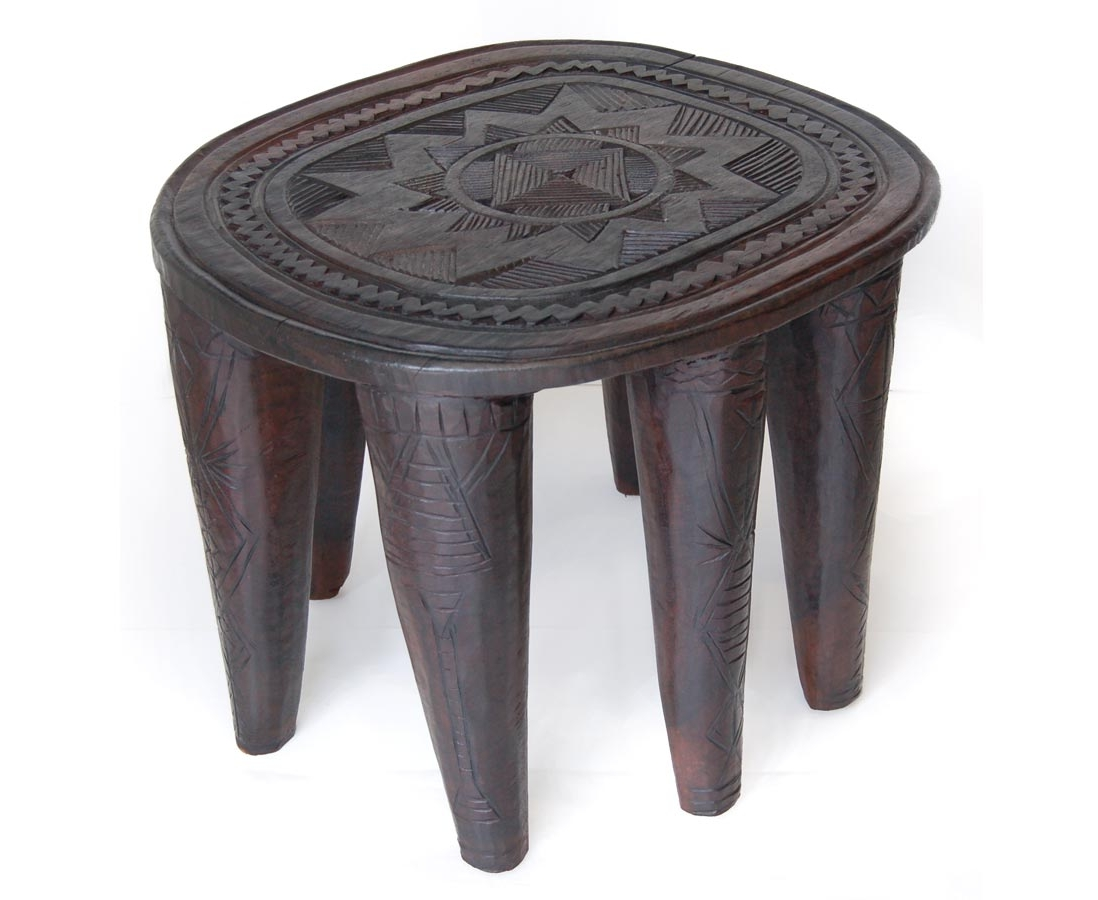 Hand carved african coffee table modern global decor afrimod African coffee tables