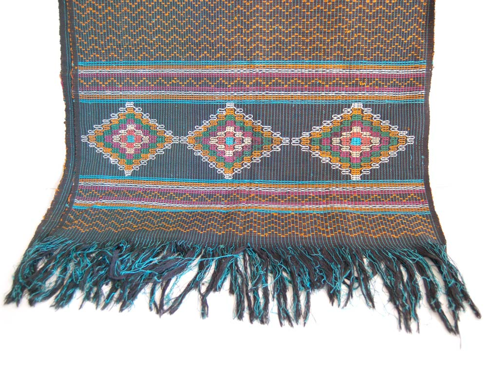 Textile Throw: Akwete Cloth