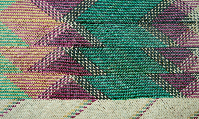 African Natural Fiber Mat