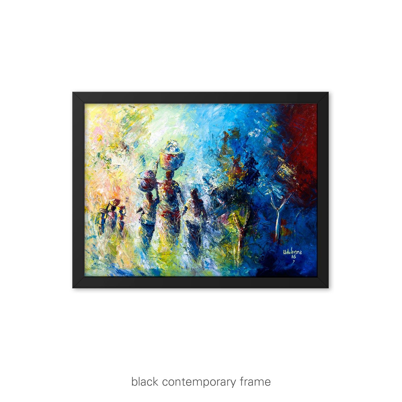 Back Home II – nostalgic art print