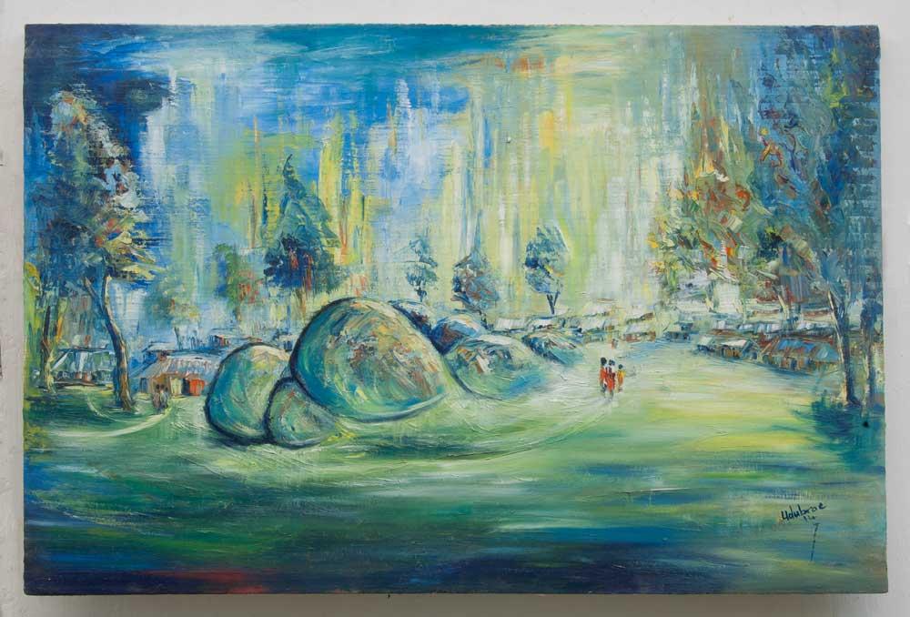 "Traditional Africa – ""Beautiful Plateau"" (art print)"