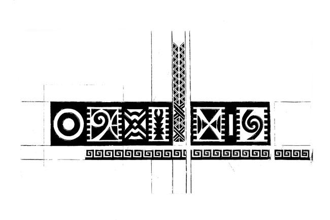 """African Heritage"" – bold black & white canvas art print"