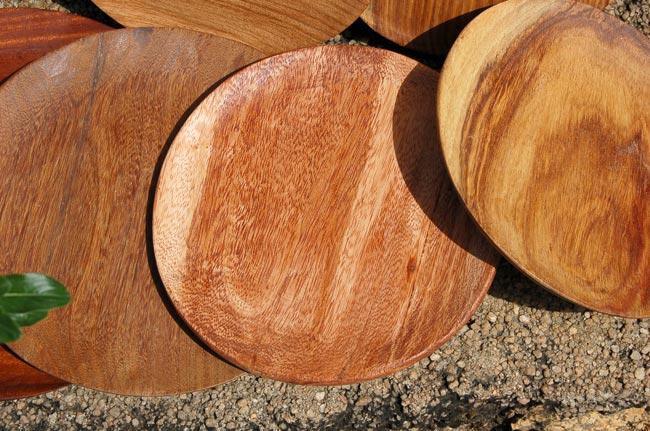 Handmade Solid Wood Plates (Variety)