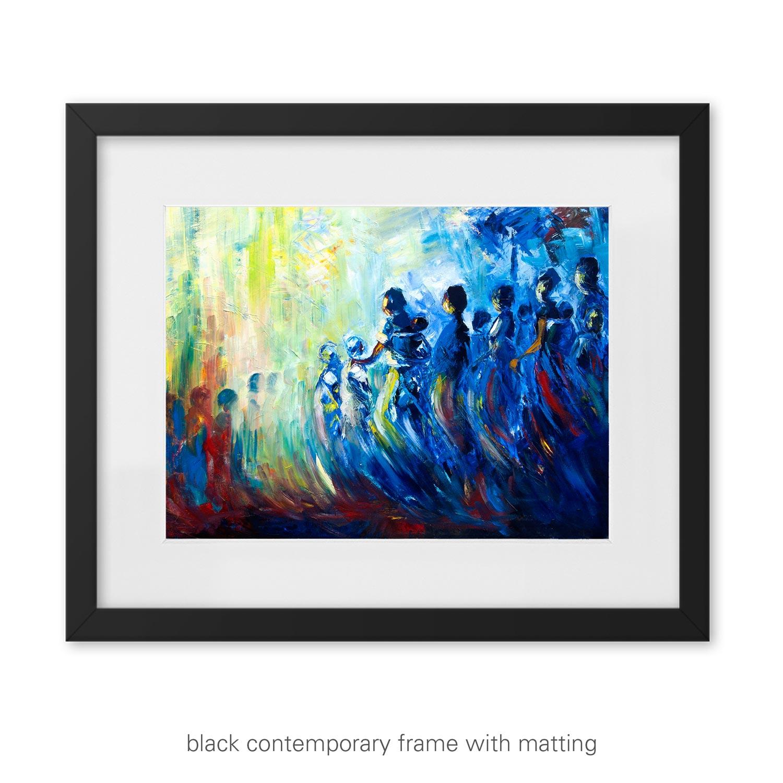 Homeward Journey II – nostalgic art print