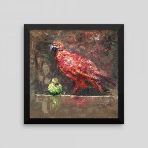 Attraction-Framed-Print_Historic-Brush-Art-Counsult-Nelson-Obinna_AfriMod