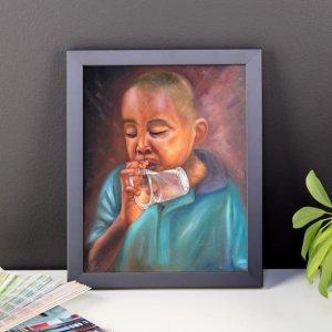 African-Art_The-Last-Prayer-02-Framed-Print_Alani-Olatunji_AfriMod