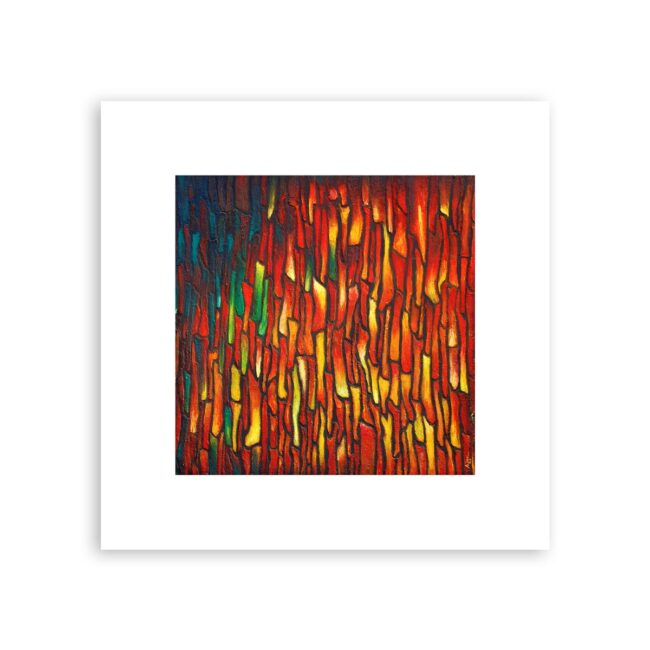Life is a Journey – abstract art print