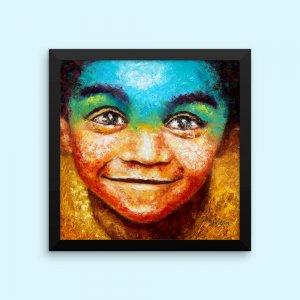 African-Art-Framed-Print-Black-Boy-Joy_Historic-Brush-Art-Counsult_AfriMod