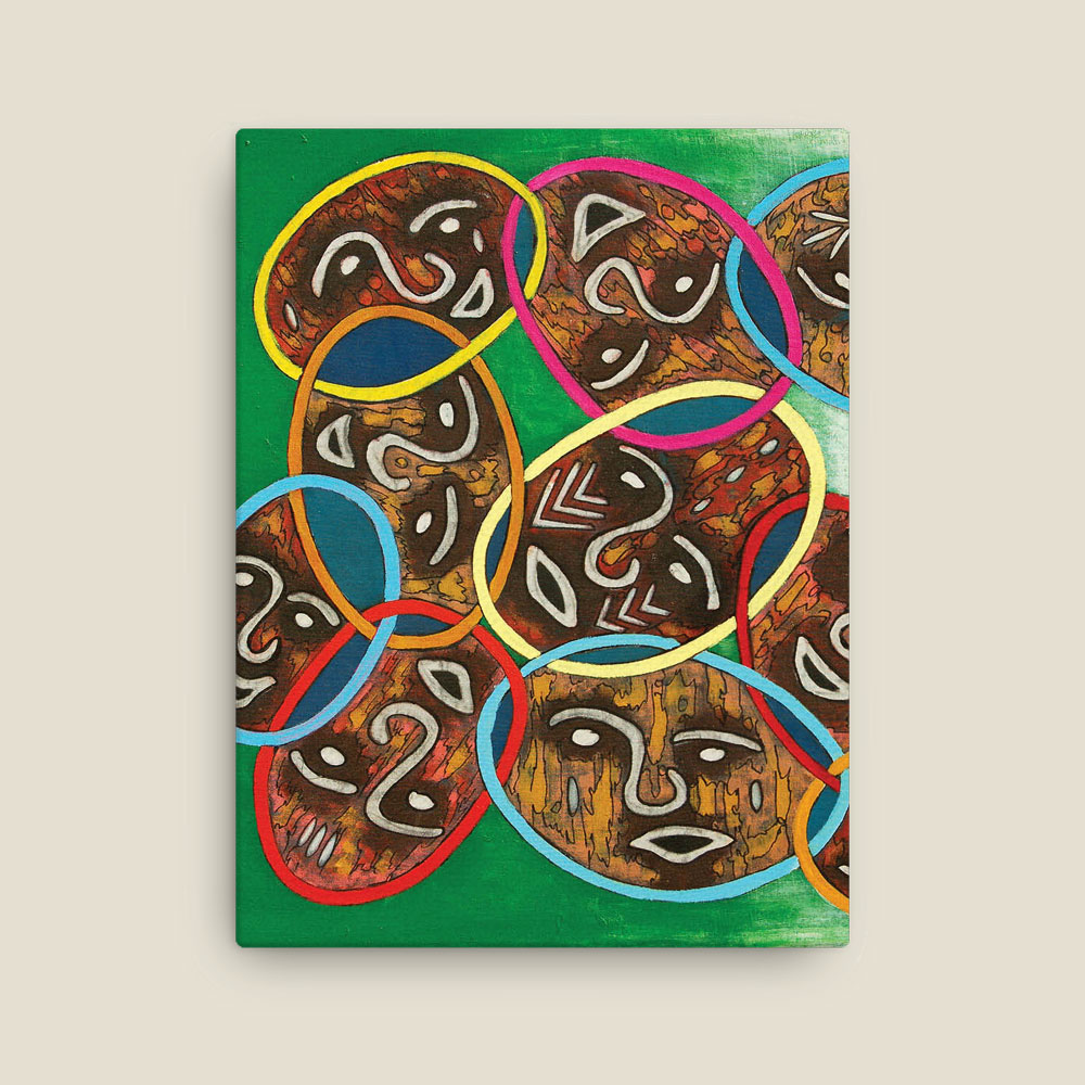 """Unity in Diversity"" Triptych – canvas prints"