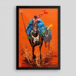 African-Art_Durbar-Framed-12x18_Tewasi-Jonah_AfriMod