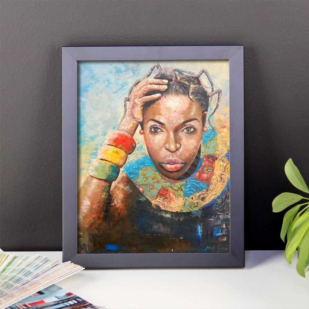 African Beauty (8×10″ print)