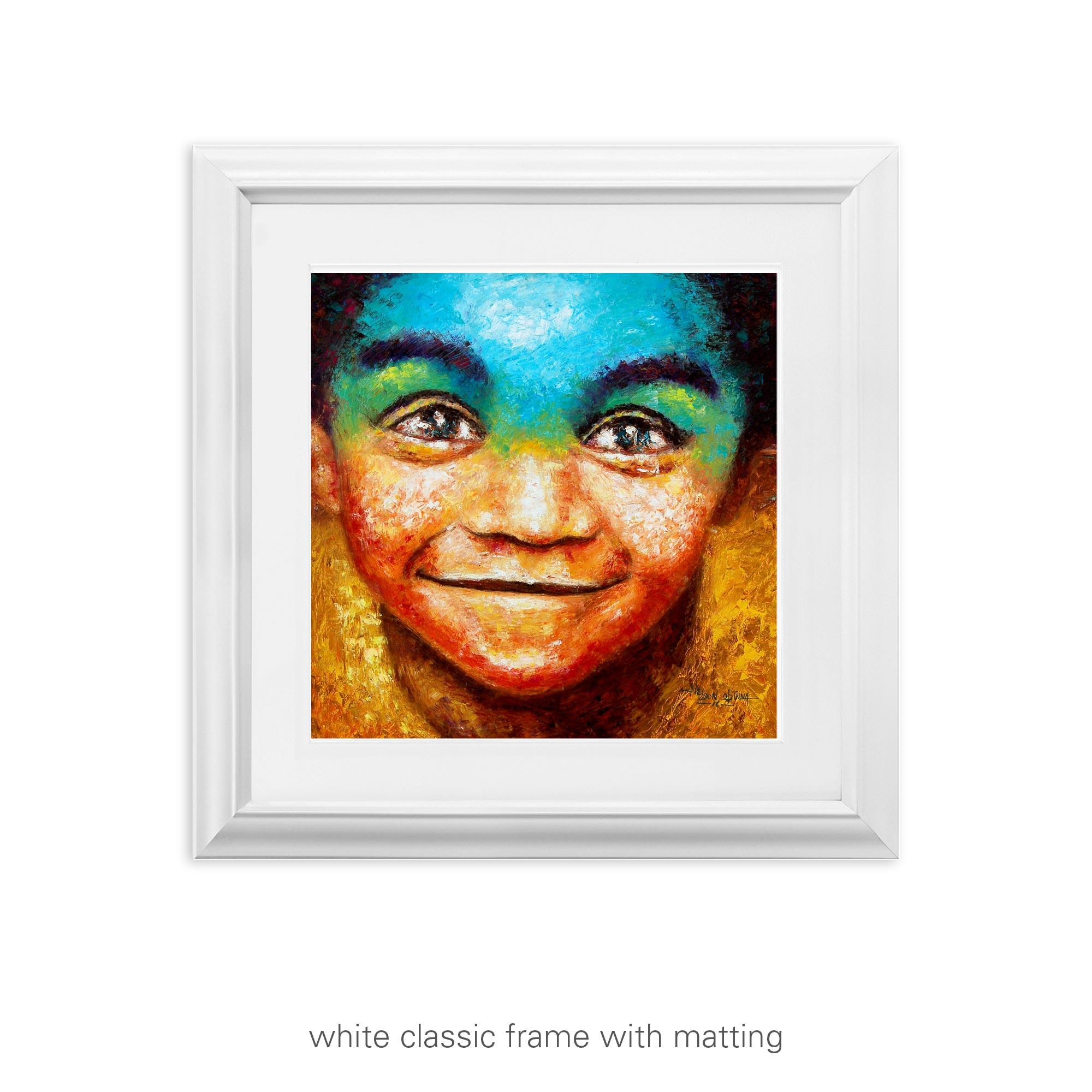 Child's Smile – art print