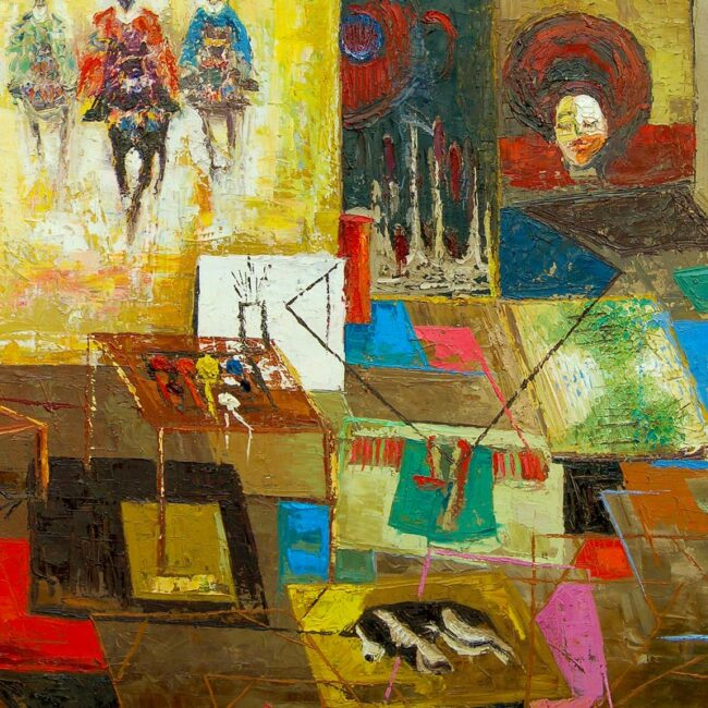 The Channeling: Origin – Abstract African Art