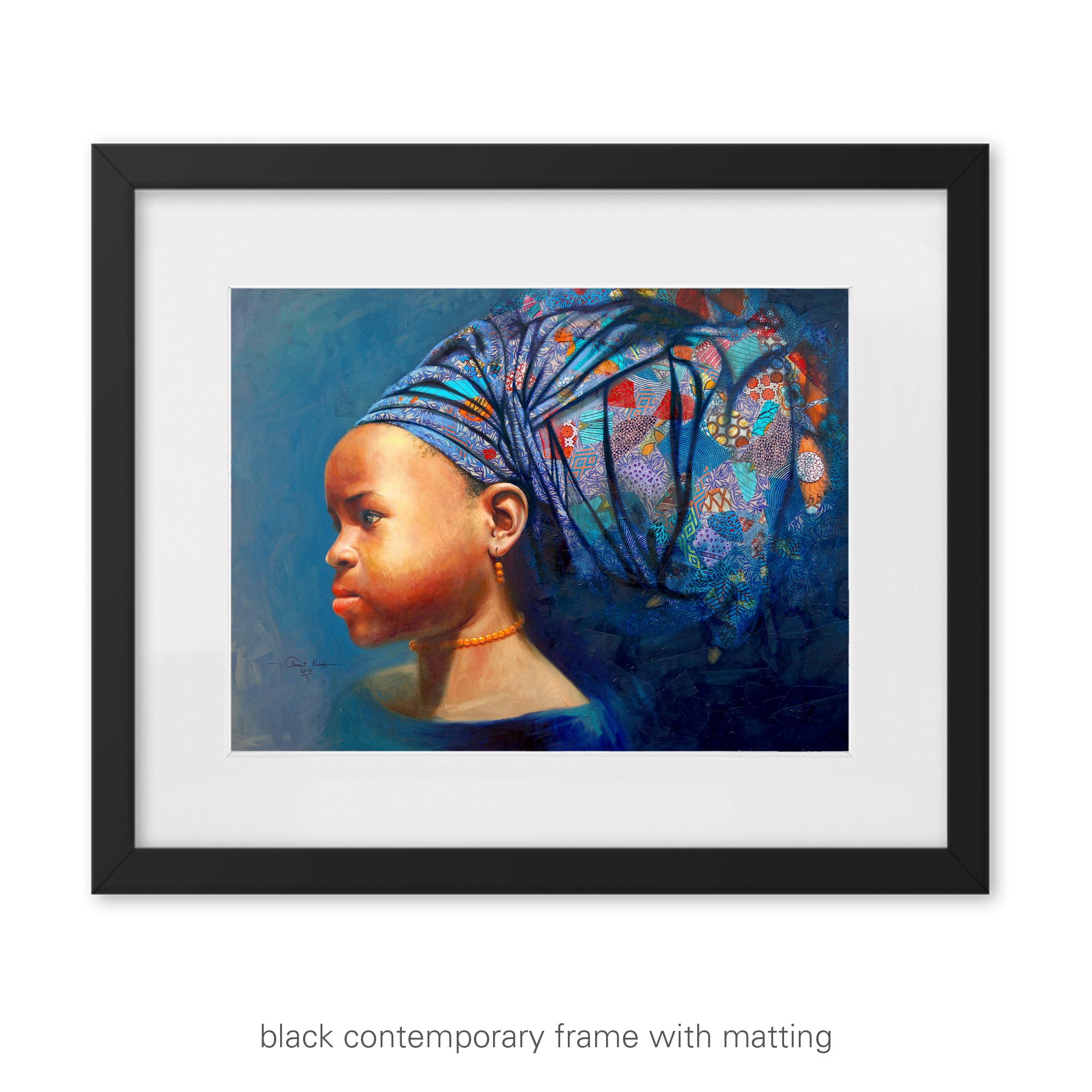 """""""Determination of the African Girl Child"""" – art print"""