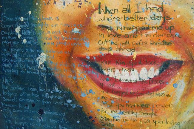 "Inspirational African Art & Poetry ""Mindset"" (original & prints)"