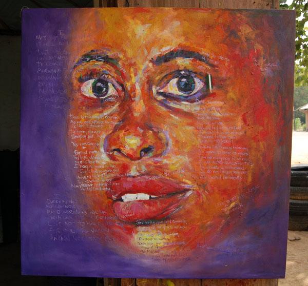 """Inspirational African Art (original & prints) – """"Straighten II"""""""