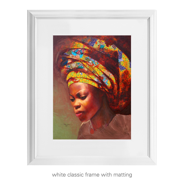 Golden Crown – art print