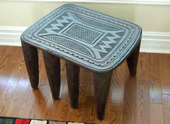 Add a Touch of Modern Global Flair with African Stools