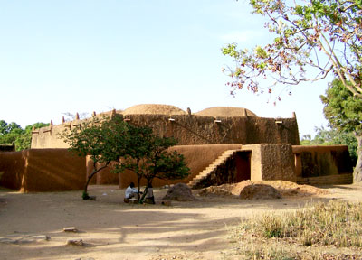 Traditional Adobe Architecture in West Africa