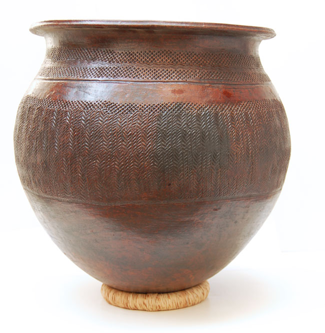 Large Nupe Floor Pot / Planter (Nupe)