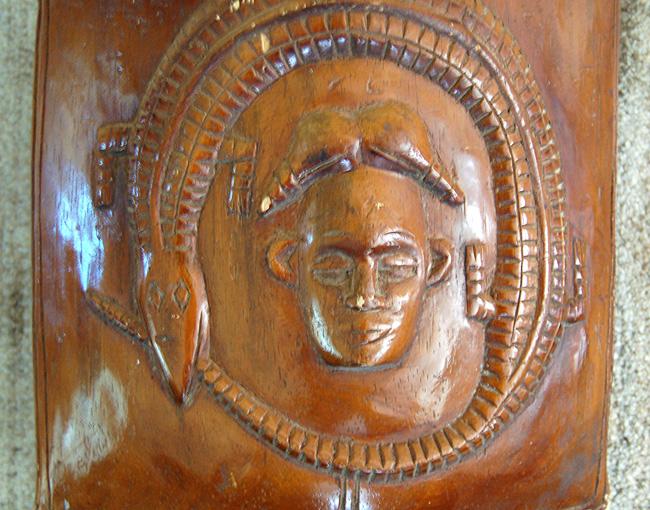 Vintage Igbo Janus-Head Gong