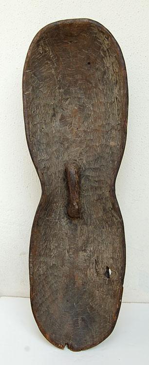 Songye Shield with Kifwebe Masks