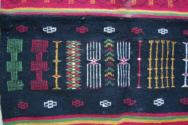 Tuareg Camel Saddle Rug / Kilm