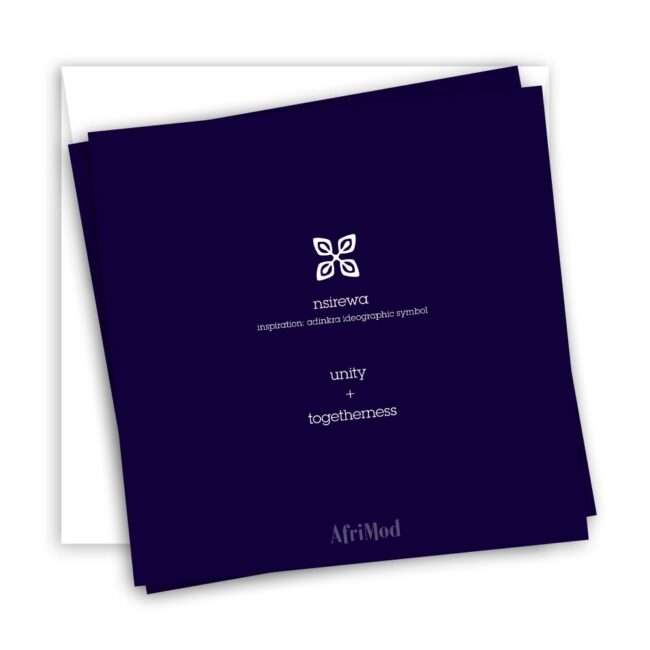 Happy Together – blank minimalist greeting card