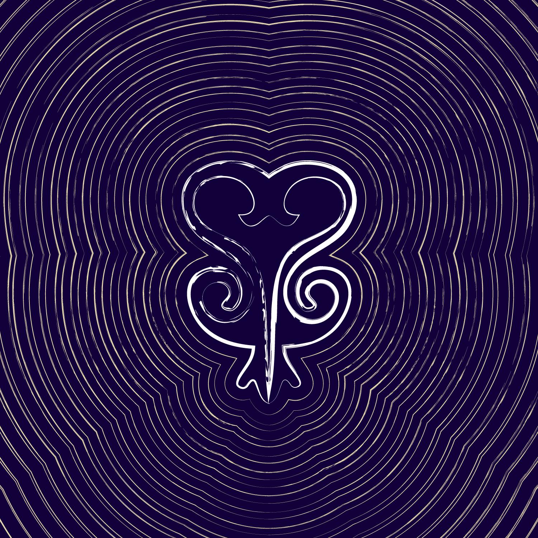 Sankofa – single or set of 8 minimalist greeting cards