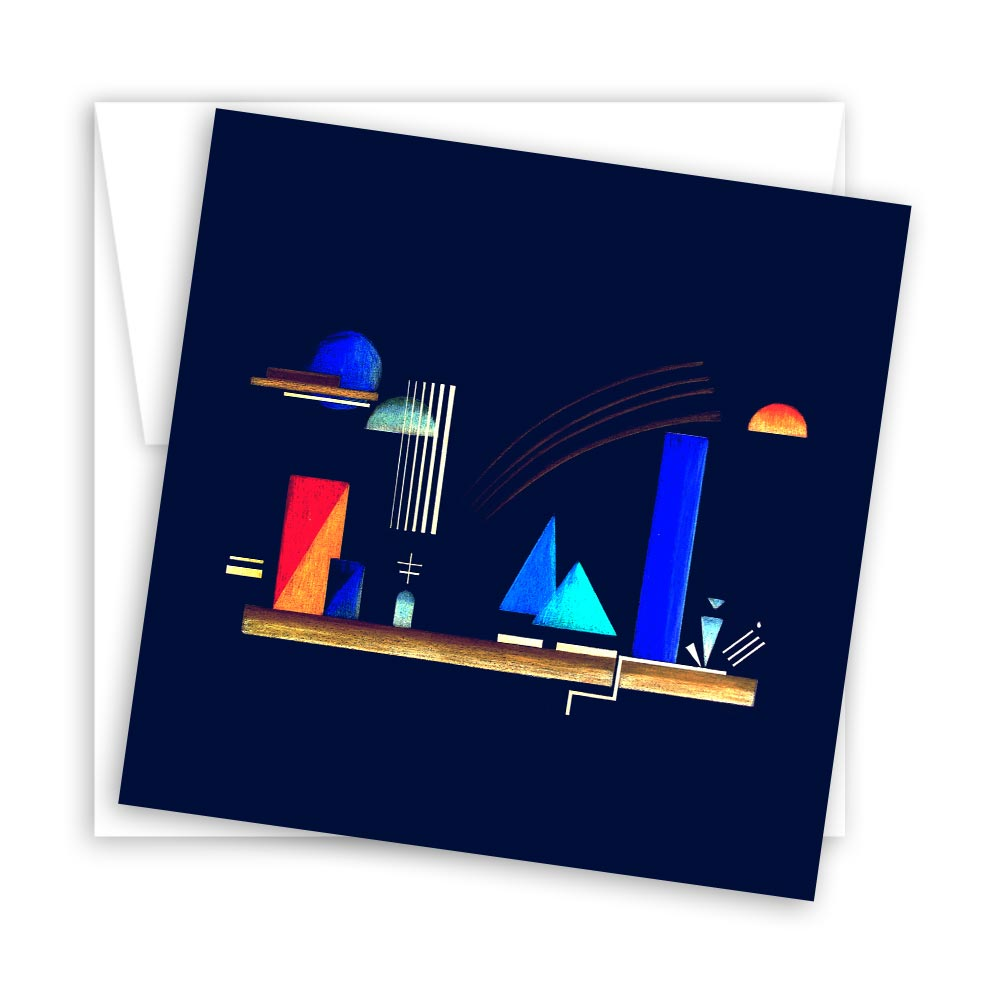 Harmony of the Spheres (Dawn and Midnight) – set of 10 blank notecards