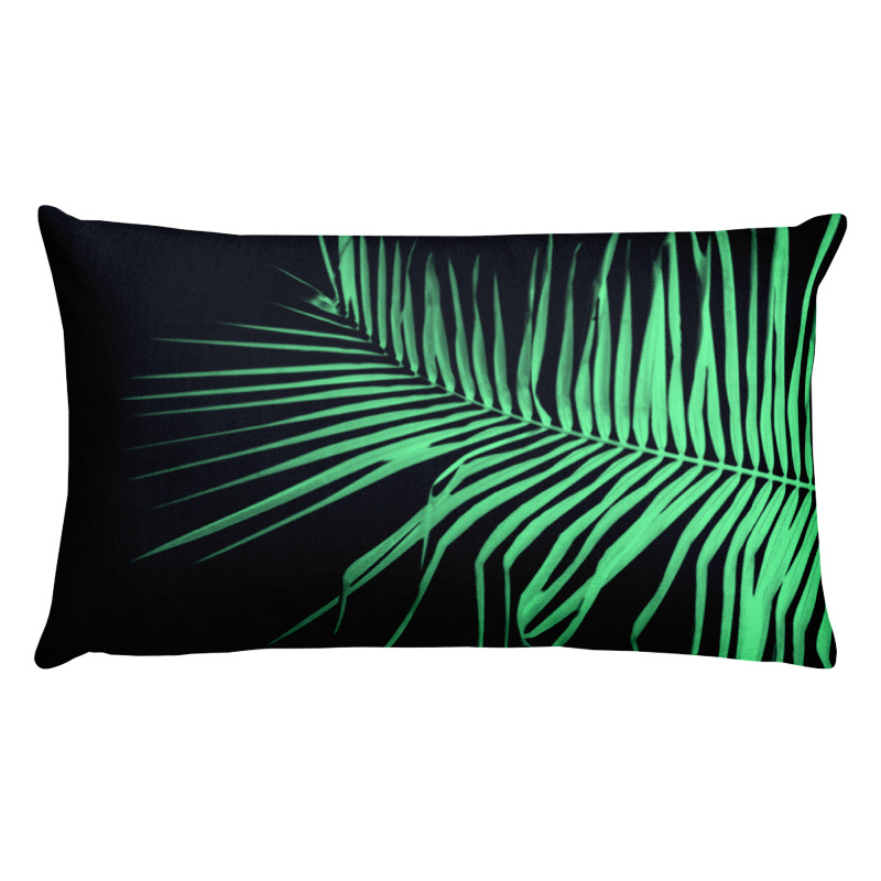 Palm x-ray I – Lumbar Throw Pillow