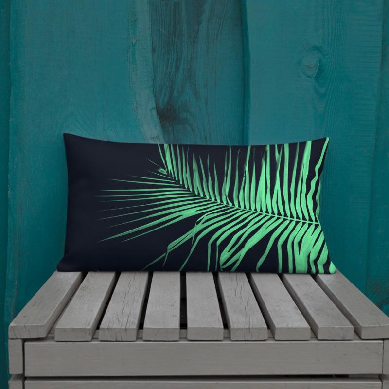 Palm x-ray I – Lumbar Throw Pillow