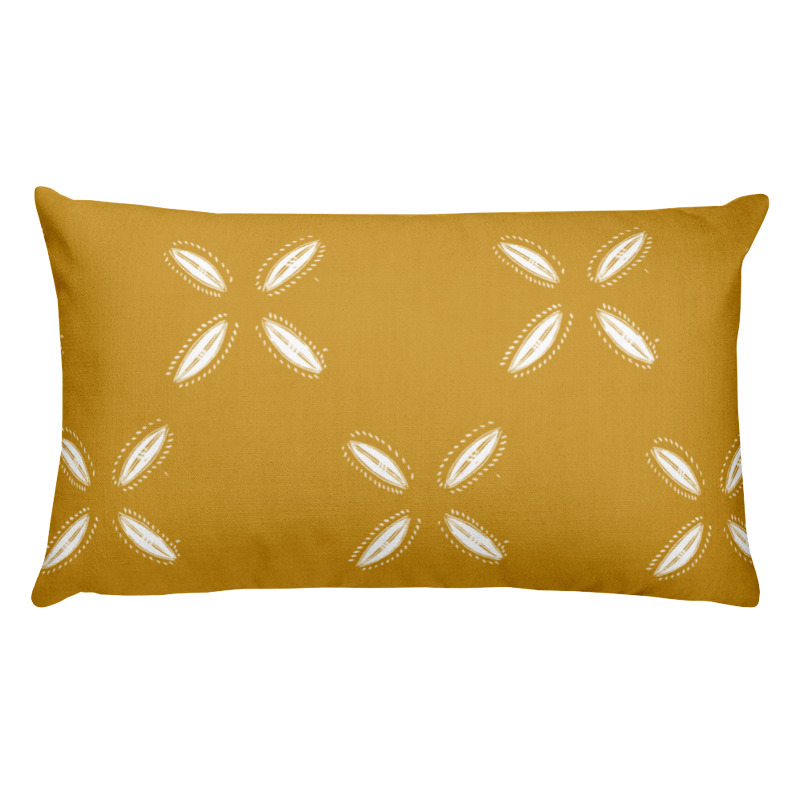 Cowrie – Lumbar Throw Pillow