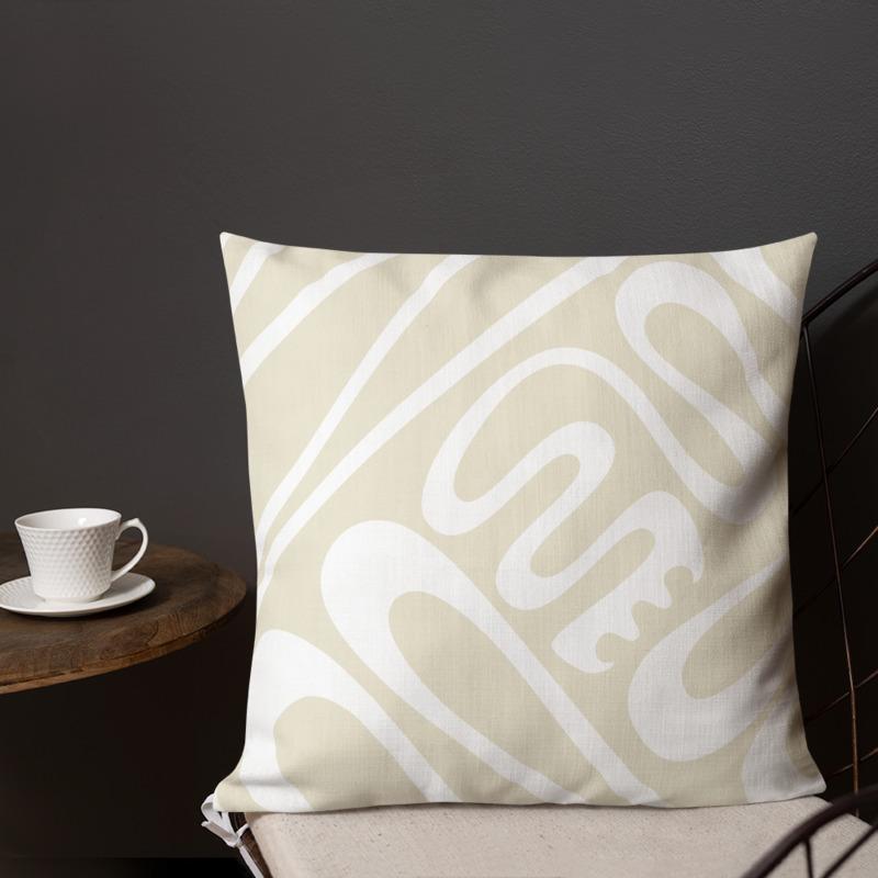 Creative Flow – Throw Pillow (18×18″)