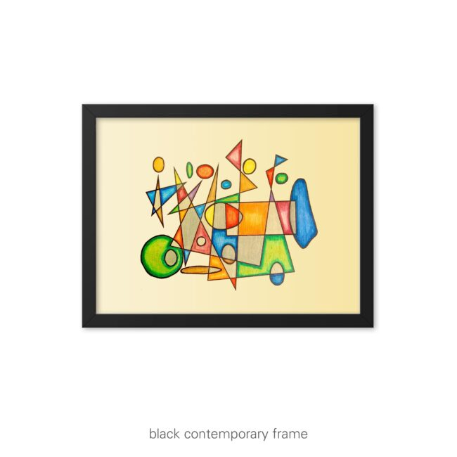 Vintage Ride – unframed / framed / canvas art print